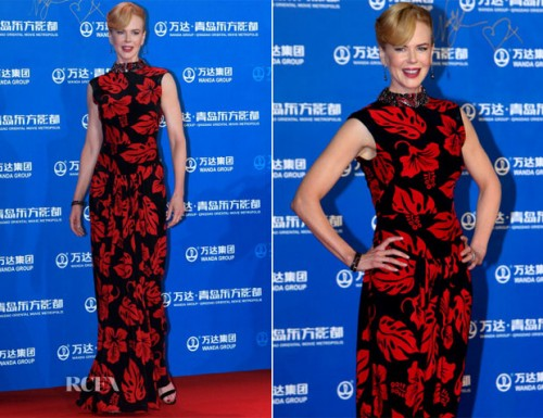 A atriz Nicole Kidman na Metrópole Cinematográfica Oriental de Qingdao