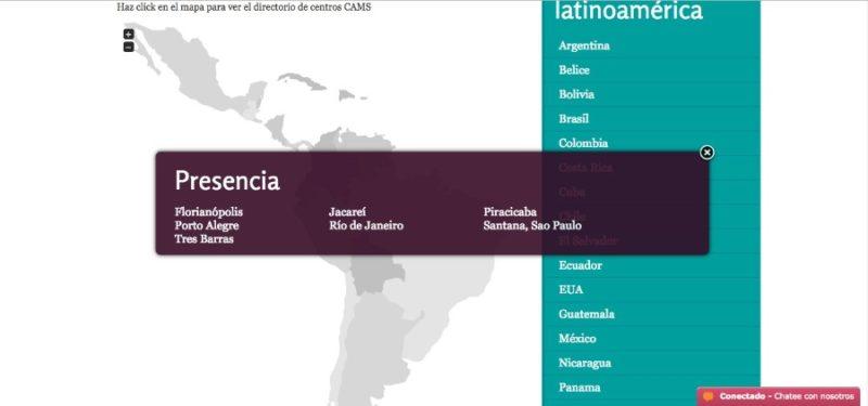 No Brasil, a organização tem representantes em diversas cidades