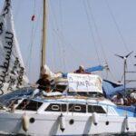 Um novo barco desafio o bloqueio a Gaza