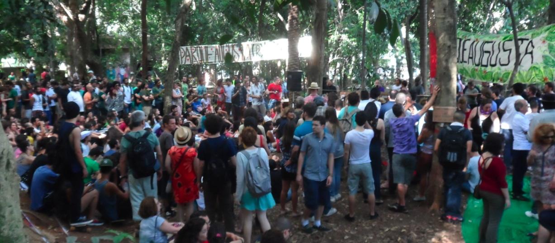03 Festa no Parque Augusta 21 dez 13 - Série Avenida Paulista: Conde ao Citi. História de bancos e banqueiros.