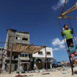 Nos escombros de Gaza, nova resistência