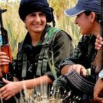 A luta incomum das mulheres curdas
