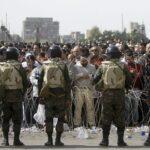 O Iraque tomado por protestos
