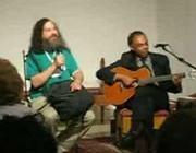 Stallman e Gilberto Gill