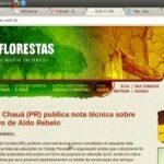Na net, a polêmica sobre o Código Florestal