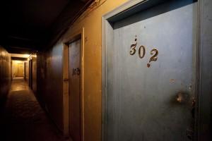 A ocupação Mauá tem seis andares, cada um com sua câmera de vigilância