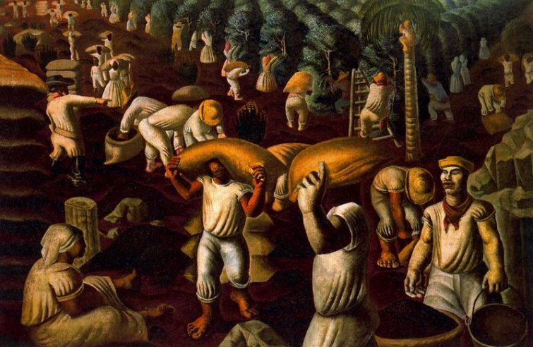 Café  (Portinari): escravidão e exclusão na terra do sol