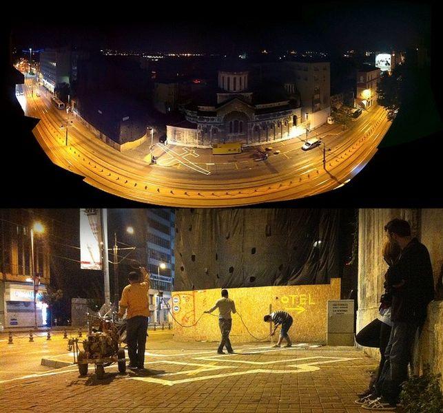 Projeto 'Drone Shade', desenvolvido durante a Bienal de Desenho 'Adhocracy'