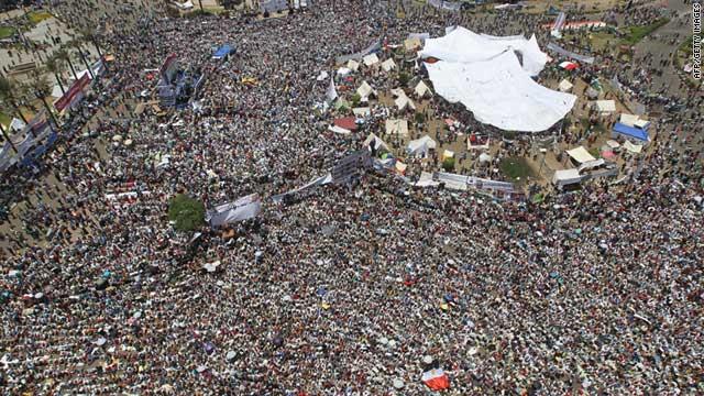 Praça Tahrir, Egito 2011