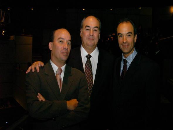 Dos irmãos Marinho, José Roberto (à esquerda) é citado nominalmente no processo que sumiu