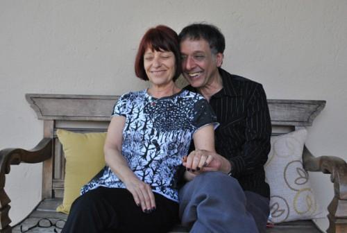 Arnaldo Baptista e Lucinha Barbosa (2010). [Foto: Fabiana Figueiredo]