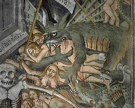 Detalhe da cupula de uma capela mediavel em La Brigue na França