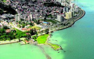 Ponta do Coral - Florianópolis.