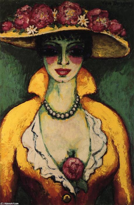 140919_Kees-Van-Dongen-Woman-with-Flowered-Hat