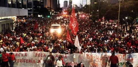 O protesto, às 19h: contra segregação hídrica, propostas certeiras e um possível caminho para tirar esquerda das cordas