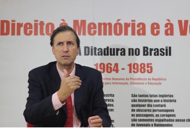 """""""Houve um momento no Estado brasileiro que havia uma política pública de violação de direitos humanos"""" (foto: Felipe Amaral)"""