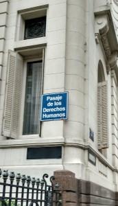 Passagem dos Direitos Humanos em Montevideo, no Uruguai. Foto: Daniel Santini