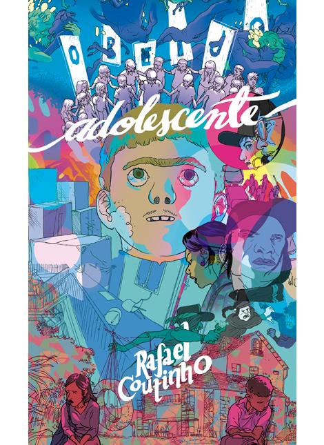 """O Beijo Adolescente 3"", de Rafael Coutinho"