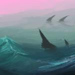 O mar está para monstros