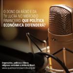 O obscuro controle sobre a mídia no Brasil