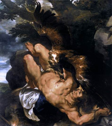 Rubens, Prometeu Acorrentado, 1611
