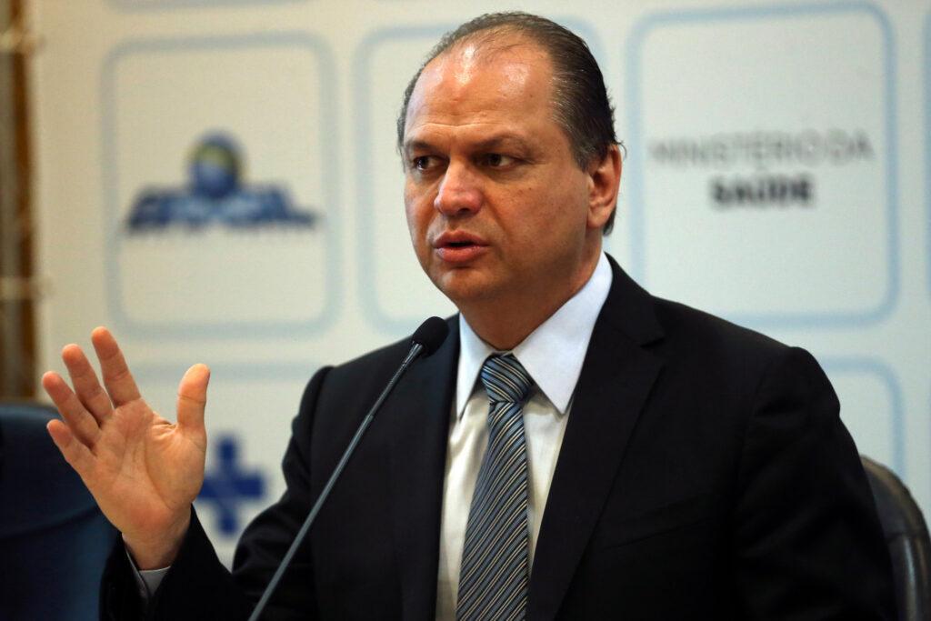Na imagem, o ministro da saúde, Ricardo Barros. Créditos: José Cruz / ABr