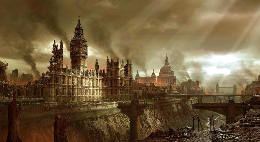 Estudo sugere:: capitalismo ingressou em fase desintegradora: caos políticos e desastres climáticos podem aproximar conflito global. Mas é também a brecha para