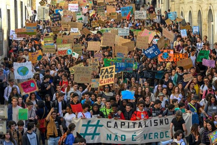 Resultado de imagem para greve global clima