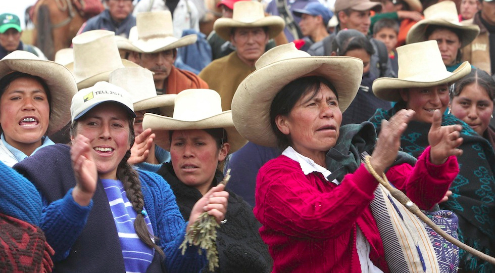 O Peru profundo dá passo peculiar à esquerda